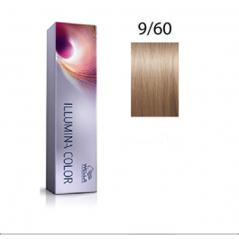 Wella Professionals Tinte Illumina Color 9/60 Rubio Muy Claro Violeta Natural 60ML