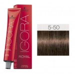 TINTE IGORA ROYAL ABSOLUTES LIGHT BROWN GOLD NATURAL 5-50 60 ml SCHWARZKOPF