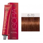 TINTE IGORA ROYAL ABSOLUTES DARK BLONDE COPPER NATURAL 6-70 60 ml SCHWARZKOPF