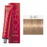 TINTE IGORA ROYAL ABSOLUTES BEIGE NATURAL 9-40 60 ml SCHWARZKOPF