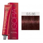 TINTE IGORA ROYAL SENEA LIGHT BROWN FASHION S5-86 60 ml SCHWARZKOPF