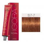 TINTE IGORA ROYAL SENEA MEDIUM BLONDE FASHION S7-7 60 ml SCHWARZKOPF