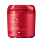MASCARILLA BRILLIANCE CABELLO GRUESO 150ML WELLA PROFESSIONALS
