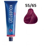 Wella Professionals Tinte Koleston Perfect Vibrant Reds 55/65 Castaño Claro Intenso Violeta Caoba 60ML