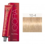 TINTE IGORA ROYAL HIGHLIFTS ULTRA RUBIO 10-4 60 ml SCHWARZKOPF
