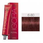 TINTE IGORA ROYAL ABSOLUTES DARK BLONDE RED NATURAL 6-80 60 ml SCHWARZKOPF