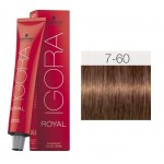 TINTE IGORA ROYAL ABSOLUTES MEDIUM BLONDE CHOCOLATE NATURAL 7-60 60 ml SCHWARZKOPF