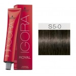 TINTE IGORA ROYAL SENEA LIGHT BROWN NATURAL 5-0 60 ml SCHWARZKOPF