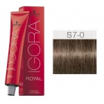 TINTE IGORA ROYAL SENEA MEDIUM BLONDE NATURAL S7-0 60 ml SCHWARZKOPF