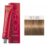 TINTE IGORA ROYAL SENEA MEDIUM BLONDE FASHION S7-65 60 ml SCHWARZKOPF