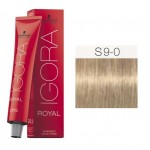 TINTE IGORA ROYAL SENEA EXTRA LIGHT BLONDE NATURAL S9-0 60 ml SCHWARZKOPF