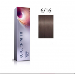 Wella Professionals Tinte Illumina Color 6/16 Rubio Oscuro Ceniza Violeta 60ML