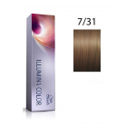 Wella Professionals Tinte Illumina Color 7/31 Rubio Medio Dorado Ceniza 60ML