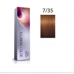 Wella Professionals Tinte Illumina Color 7/35 Rubio Medio Dorado Caoba 60ML