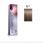 Wella Professionals Tinte Illumina Color 8/1 Rubio Claro Ceniza 60ML